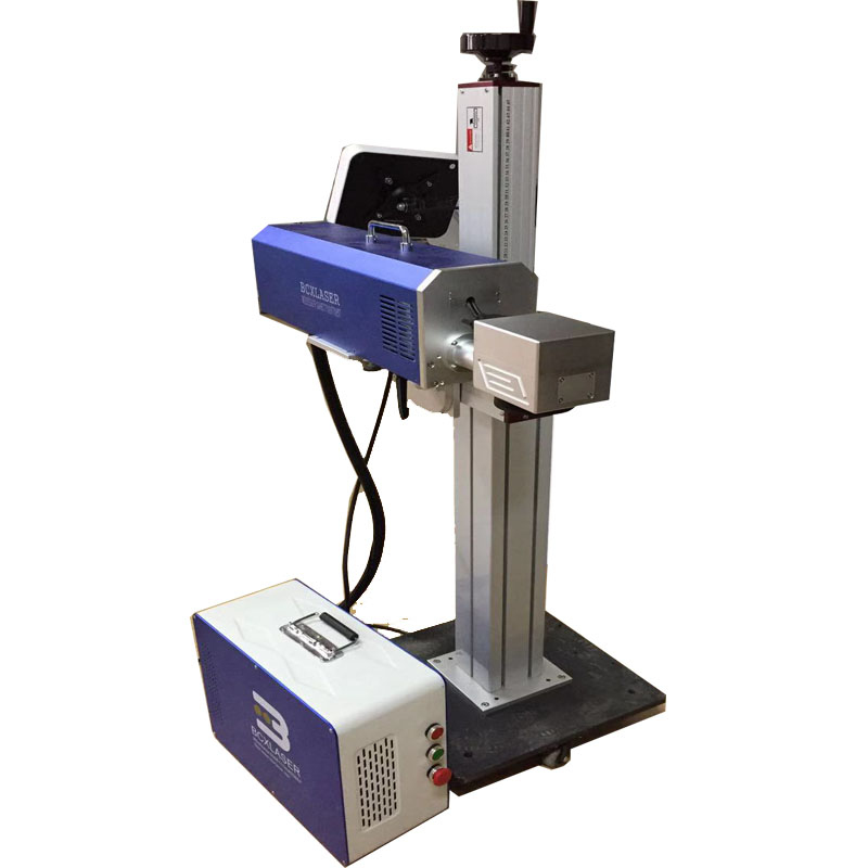 30W Fly Fiber Laser Marking Machine For Pvc Pipe