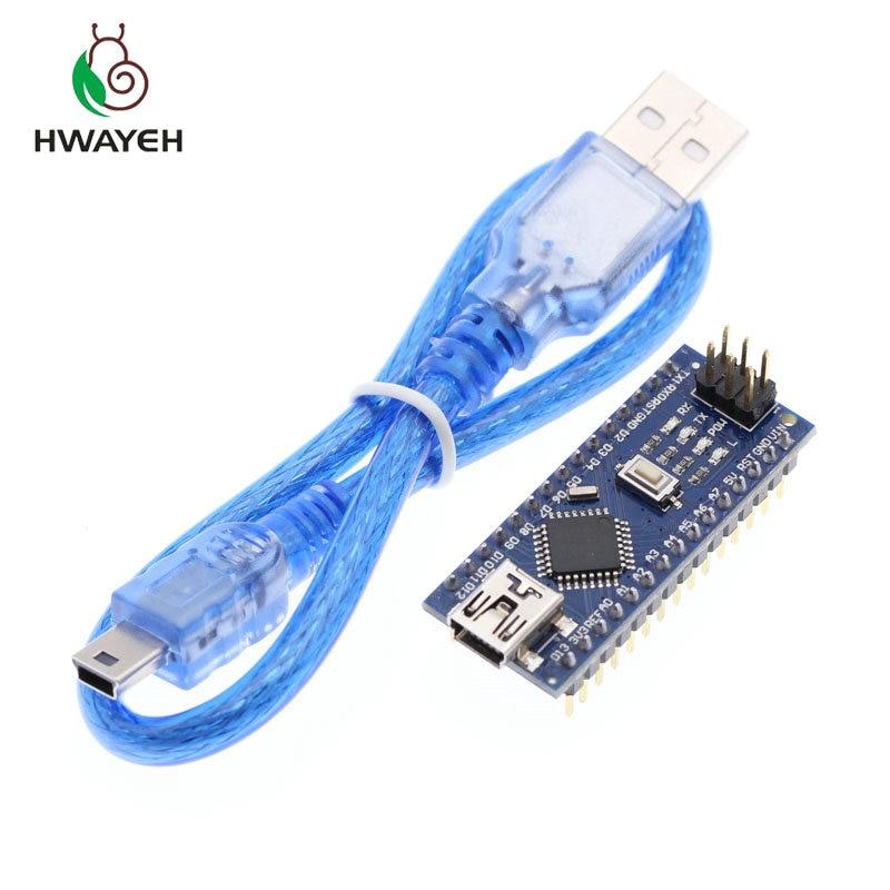100PCS Nano 3.0 Controller Compatible with Nano CH340 USB Driver NO Cable Nano v3.0