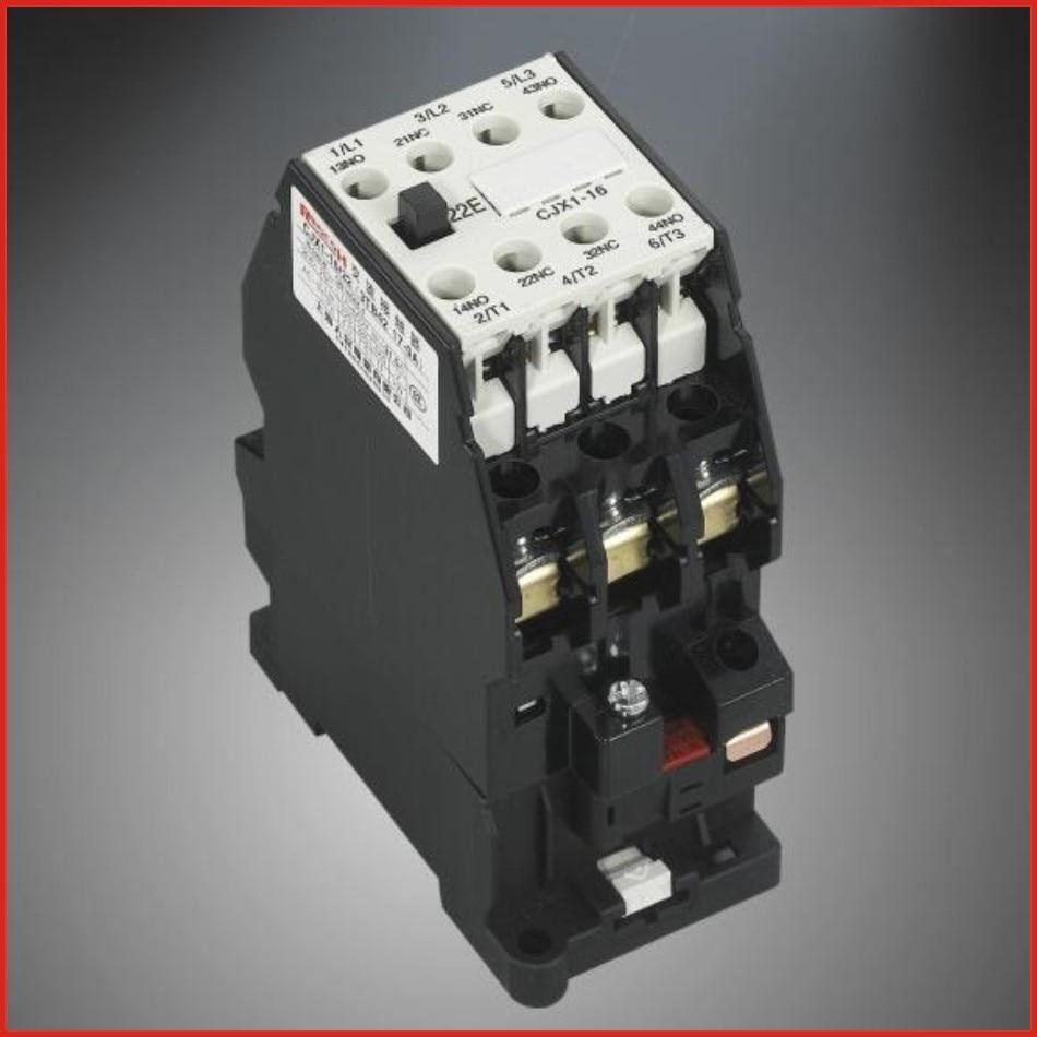 Contactor AC contactor 220V 380V low voltage apparatus switch mini hdmi 3TB 3TF series contactor CJX1-16/22(3TB42)