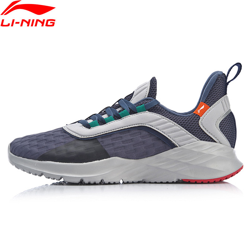 Li-Ning Men CRAZY RUN Cushion Running Shoes Light Weight Flexible LiNing Support Sport Shoes Comfort Sneakers ARHP007 XYP868