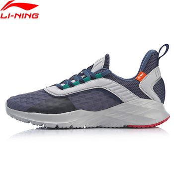 Baskets Lumineuses | Li-ning Hommes CRAZY RUN Coussin Chaussures De Course Léger Doublure Flexible Soutien Chaussures De Sport Baskets Confort ARHP007 XYP868