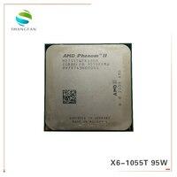 AMD Phenom X6 1055T X6 1055T 2.8GHz Six Core CPU Processor HDT55TWFK6DGR 95W Socket AM3 938pin