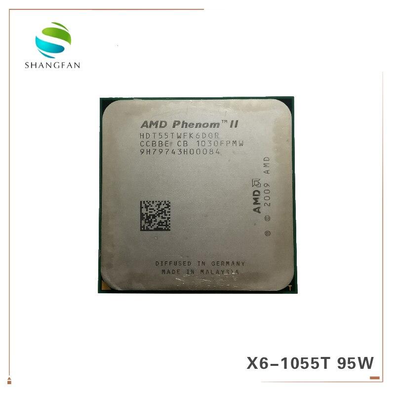 AMD Phenom X6 1055T X6-1055T 2.8GHz Six-Core CPU Processor  HDT55TWFK6DGR 95W Socket AM3 938pin