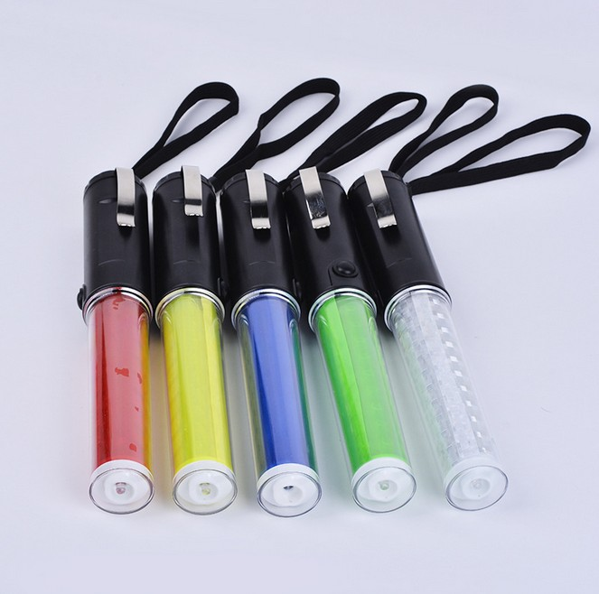 260 Multi-functional Flashinglight PVC Traffic Baton Fluorescent LED Emergency  Evacuation Tool Vehicles Flash W Batons
