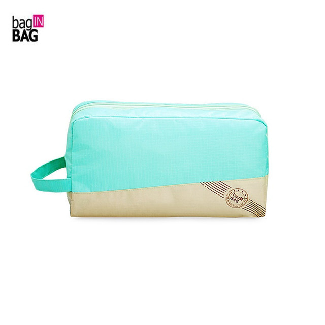 bag IN BAG High Quality Multi-functional Women Cosmetic Bag Dry and Wet Separated Toiletry Bag Travel Organizer necessaire