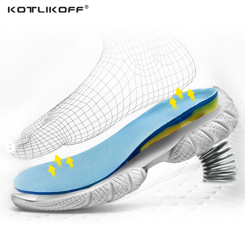 Silicon Gel Insoles Foot Care for Plantar Fasciitis Heel Spur Running Sport Insoles Shock Absorption Pads arch orthopedic insole soumit soft memory foam insole shock absorption insole orthotics arch support running sport insoles for women men foot care pads