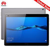 Оригинальный 10,1 дюймов huawei MediaPad M3 Lite 10 BAH W09 Глобальный Tablet PC Восьмиядерный Snapdragon 435 4 ГБ 64 ГБ 3 ГБ 32 ГБ EMUI 5,1 gps