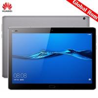 Orijinal 10.1 inç Huawei MediaPad M3 Lite 10 BAH-W09 Küresel Tablet PC SnapDragon 435 Octa Çekirdek 4 GB 64 GB 3 GB 32 GB EMUI 5.1 GPS