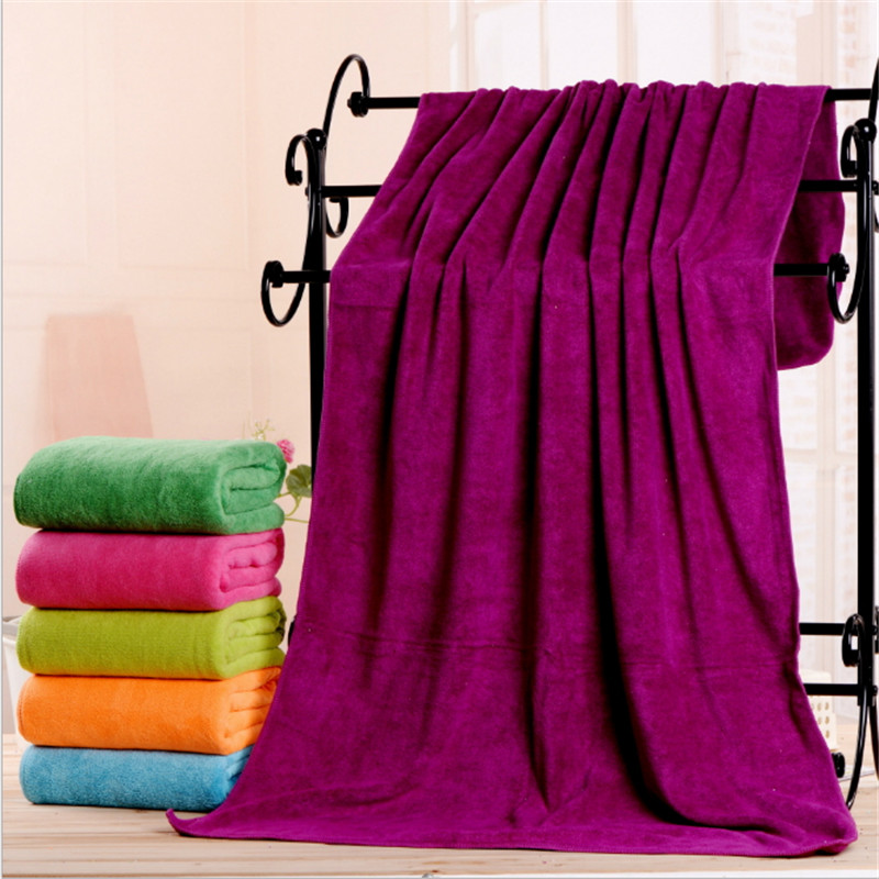 Aliexpress.com : Buy New 2017 Pure Color Large Bath Towel