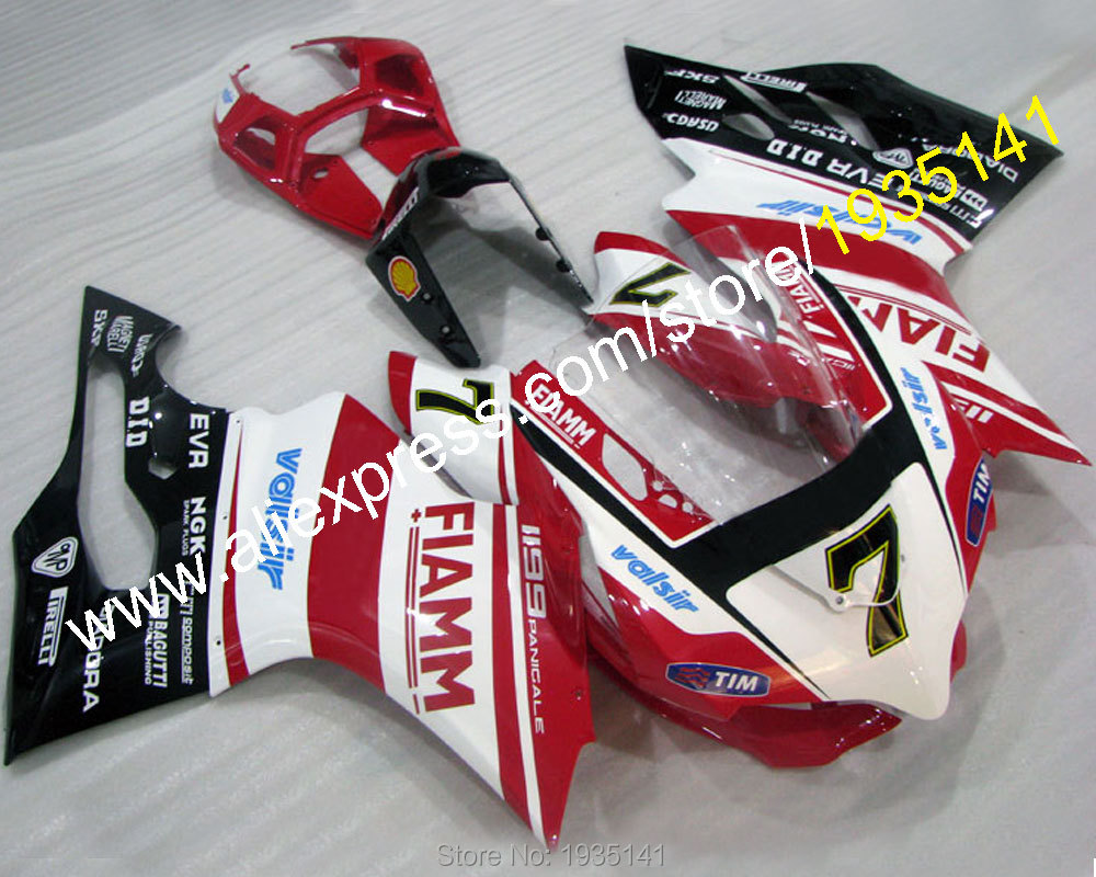 Hot Sales,For Ducati 1199 1199S ABS Parts 2012 2013 2014 899 12-14 Racing Motorbike bodywork Fairing Kit (Injection molding)