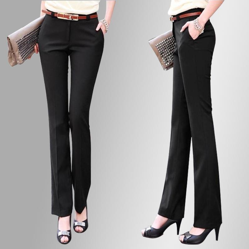 Nuovo 2018 Marca OL style abiti autunno pantaloni lunghi elastici sottili pantaloni della matita Pantaloni Pantaloni Formali Plus Size XS-5XL donne pantaloni