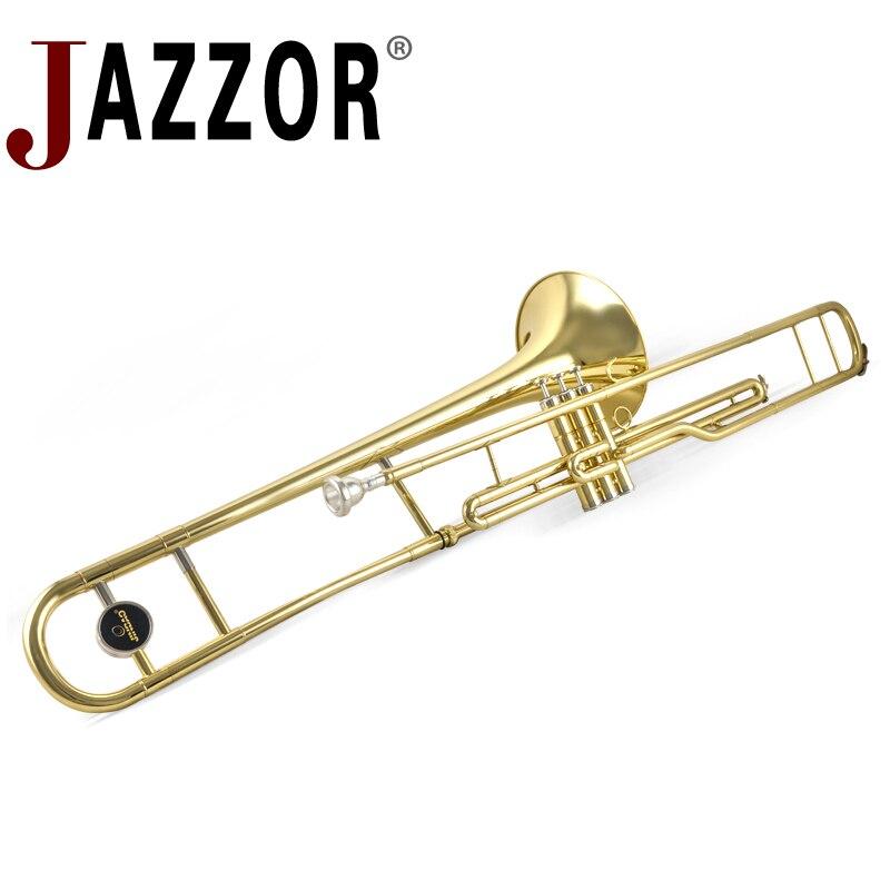JAZZOR B flat JBSL-900 Tenor trombone Marching trombone wind band professional instrument flat 900