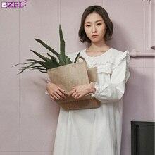 ربيع الخريف القطن ثوب النوم النساء خمر ملابس خاصة عارضة ثوب النوم السيدات باس النوم Gows الصلبة الأبيض ثوب النوم