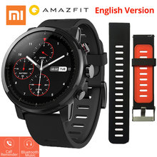 Xiaomi Huami Amazfit  Stratos 2 Amazfit Tempo 2 Smartwatch with GPS PPG Coronary heart Fee Monitor 5ATM Waterproof Sports activities Good Watch