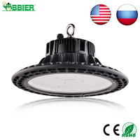 100W UFO LED High Bay Lights 110V 220V Waterproof IP65 Commercial Lighting Industrial Warehouse Led High Bay Lamp