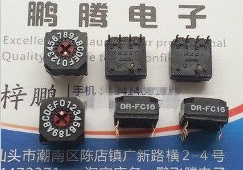 Interruptor de Dial giratorio de codificación Original nuevo 100% DR-FC16P de importación japonesa 0-F/16 bit 8421 16 bits 41