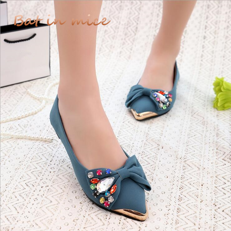 Spring summer women casual shoes flats ballet shoes New 2018 fashion Light breathable Bowknot shoes women Mujer zapatos S022 new 2015 fashion high quality lazy shoes women colorful flat shoes women s flats womens spring summer shoes size eu35 40wsh488