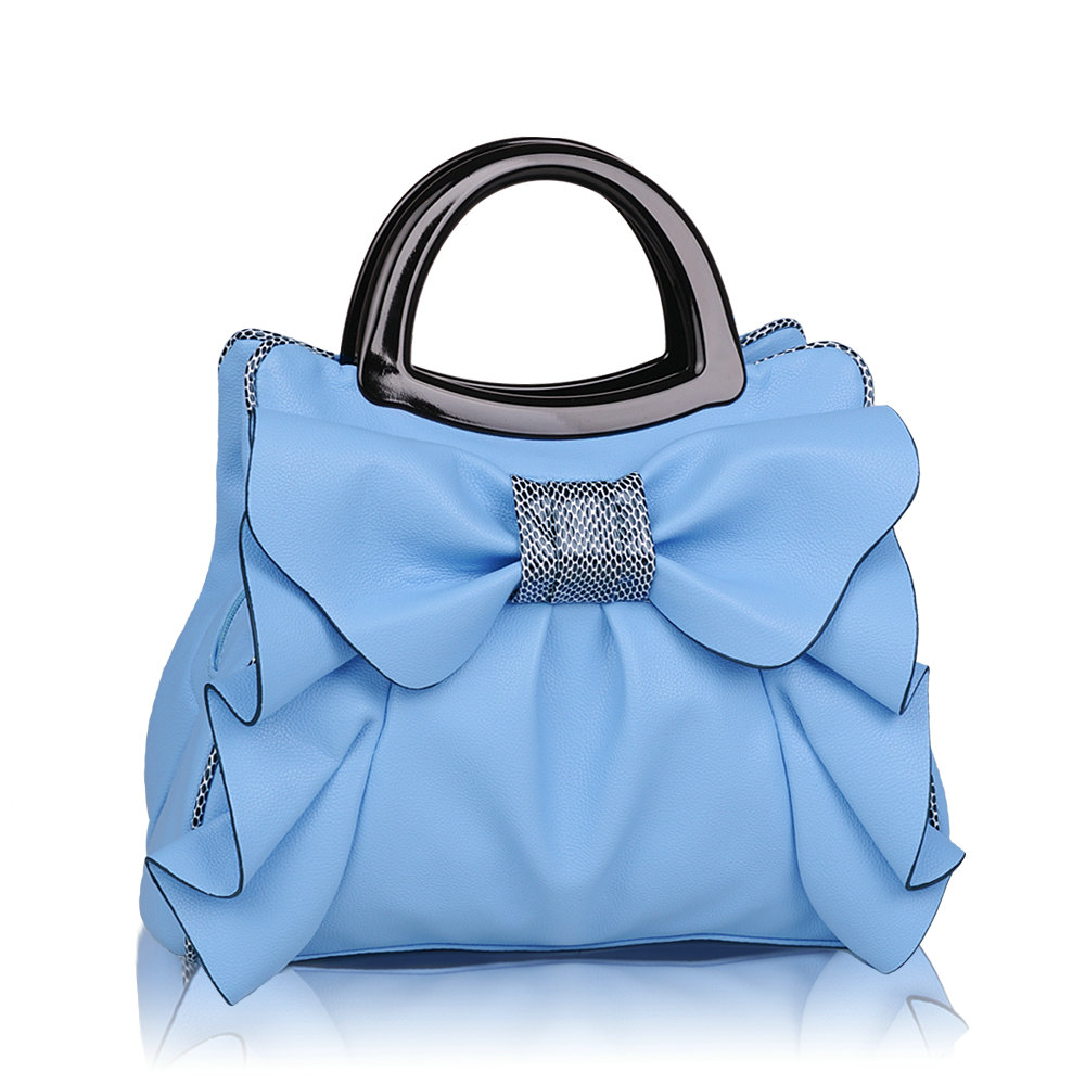 ФОТО 2017 new fashion girl's princess sweet ruffle bow handbag lady's top-handle tote women's elegant shoulder bags luxury bolsa
