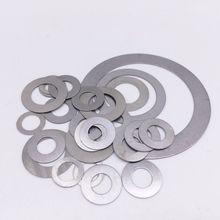 100 шт шайбы из нержавеющей стали ID 3 мм 4 мм 5 мм плоская мойка ультратонкая прокладка