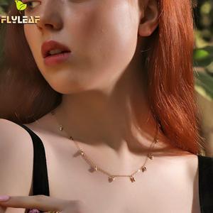Flyleaf 18k Gold Necklace For
