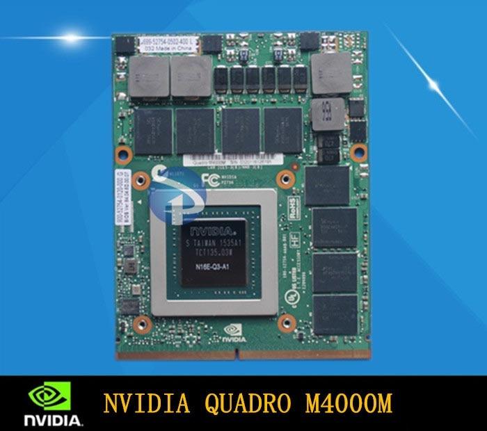 Used Original Quadro M4000M Professional Graphics Card