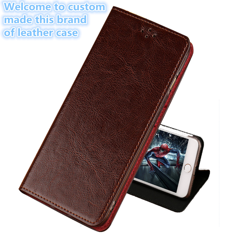 LS09 Genuine Leather Phone Cover With Kickstand For HTC U11(5.5') Phone Case For HTC U11 Flip Cover