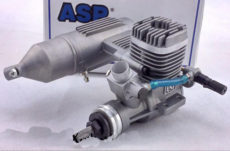 1PC ASP Three-leaf S32A/AII 2 Stroke Motor Engine 5.2CC 2000-18000(r.p.m) For Fixed Wing Model Plane Suit for 10*6-11*5 Paddles asp net 3 5 for beginners