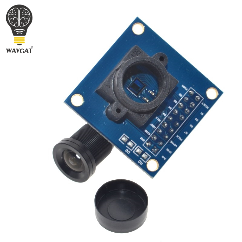 Image 3 - WAVGAT OV7670 camera module OV7670 moduleSupports VGA CIF auto exposure control display active size 640X480 For Arduino-in Integrated Circuits from Electronic Components & Supplies