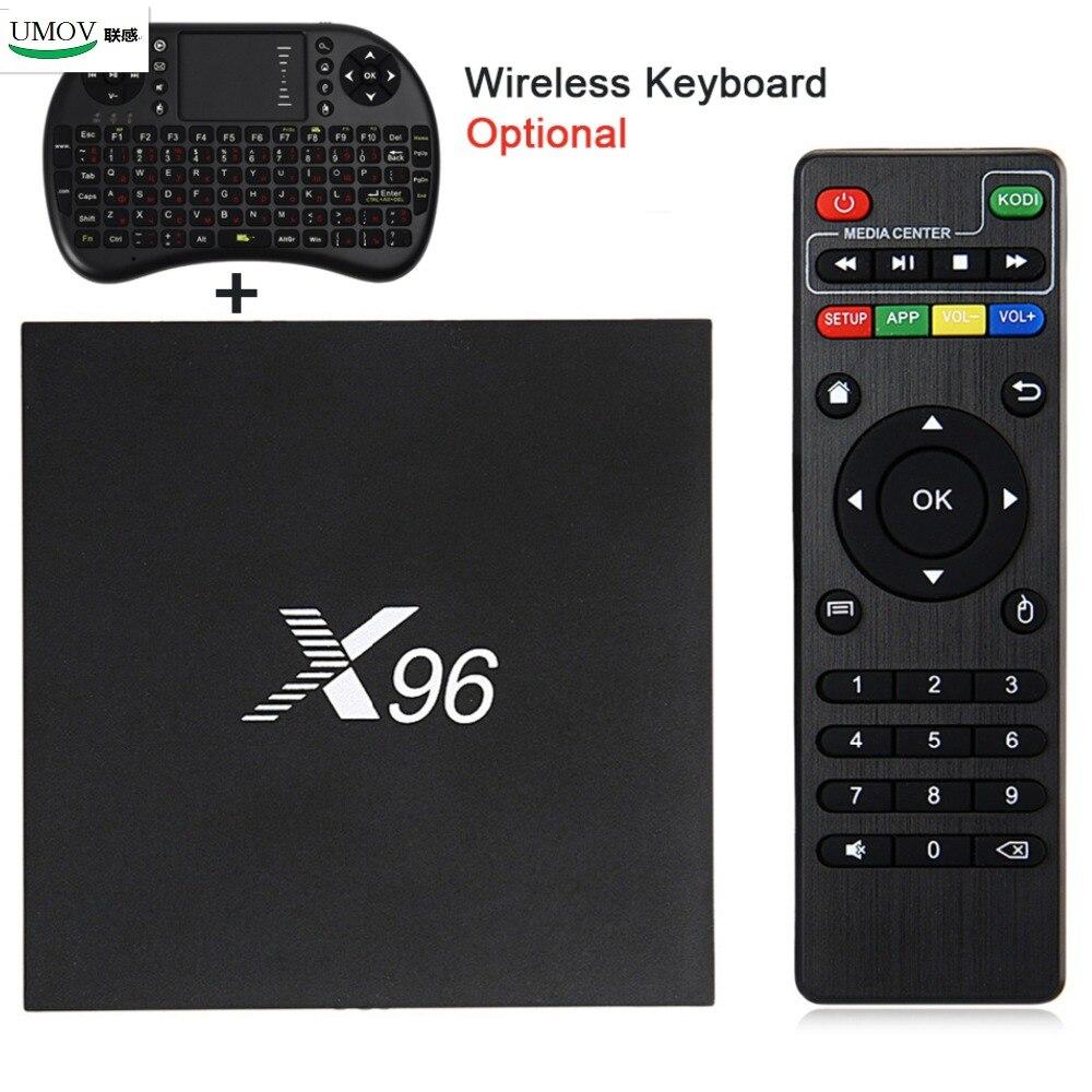Prix pour Amlogic S905x6.0x96 TV Box Max 2 GB RAM + 16 GB ROM Quad Core WIFI HDMI 4 K * 2 K HD Smart Set Top BOX Media Player