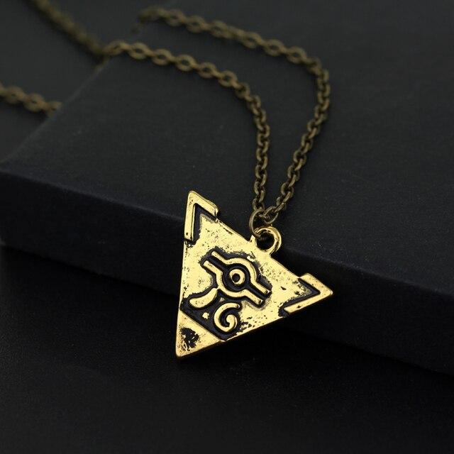 Dongsheng Vintage jeu Anime bijoux yu-gi-oh YGO Millenium Puzzle YuGiOh Yugi millénaire pendentif collier pour hommes femmes