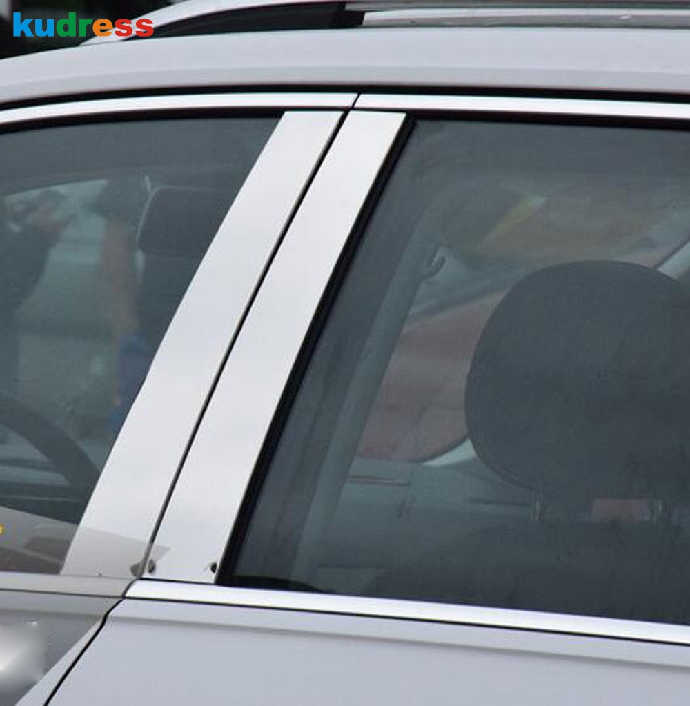 La instalaci n exterior ventana de ajuste - Aliexpress com comprar accesorios de autom viles de todo centro de pilar ventana recortar ventana columna de ajuste cubierta para volkswagen vw tiguan 2017