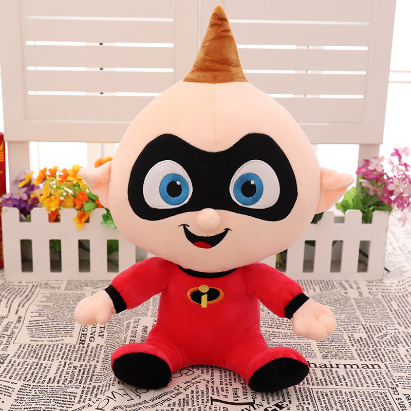 Disney Pixar The Incredibles 35 cm Doll Bob Parr Jack-Jack Parr Plush Doll Stuffed lovely Plush Toy for Kids Baby Birthday Gift
