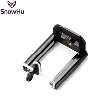Monopod Mount Gopro-Accessories Selfie Standard Cell-Phone-Clip-Stand-Holder Camera Snowhu