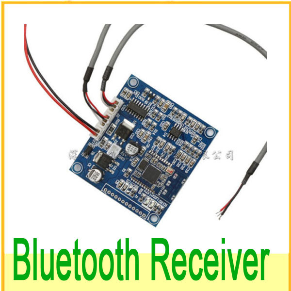 Bluetooth 4.0 Audio Receiver Board Wireless Stereo Sound Module For 12v 24v Car Phone PC