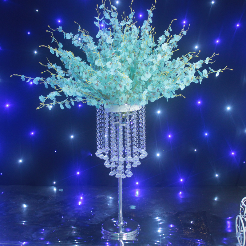 free shipping 72cm h wedding centerpiece crystal table chandelier in vases from home garden. Black Bedroom Furniture Sets. Home Design Ideas