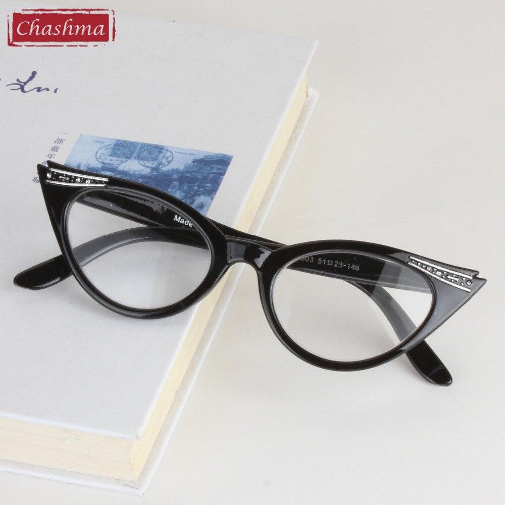 Chashma Marke Frauen Katze Brillen Frames Katze Augen Lesen Glas ...