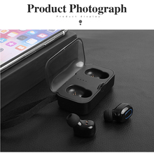 for xiaomi airdots true wireless bluetooth headset earbuds in ear sports running mini bluetooth true wireless headset with mic Wireless Bluetooth Earphone T18 TWS Stereo True Wireless Earbuds With Mic In Ear Bass Bluetooth Headset For Smart Phone