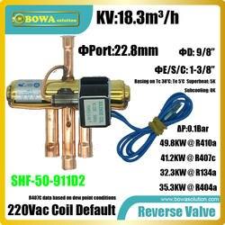 18.3m3/ч 4-способ обратный клапаны, установленные в вилле или небольшого офиса VRV или VRF кондиционеров системы переложить охлаждения и нагрева