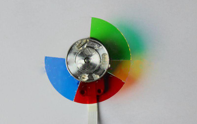 цены на New For OPTOMA DP7249 DP724P DLP Projector Color Wheel 5 Segment Diameter 40mm