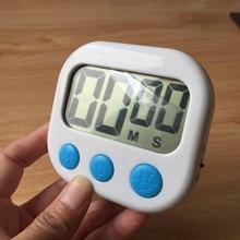 Kitchen digital timer, Electronic Big Digital Timer Lound Kitchen Timer with Large LCD Display Screen Magnet