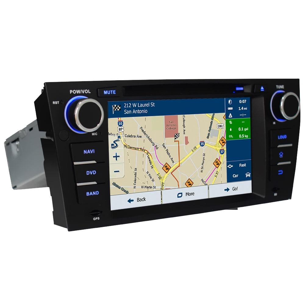 "Clearance 7"" Octa Core 4G WIFI Android 8.1 4GB RAM 64GB ROM RDS Car DVD Multimedia Player Stereo Radio For BMW E90 E91 E92 E93 2005-2012 3"