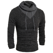 New Arrivals 2017 Brand Clothing Man Mens Sweater Knit Velvet Mens Sweaters Casual Brand Men Wool Sweater Pullovers Outwear S105