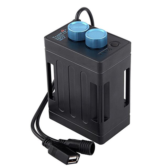TrustFire EB03 עמיד למים 18650 סוללה כוח בנק מקרה תיבת USB טעינת טלפון DC 8.4 v סוללות מקרה תיבת עבור led אופני אור