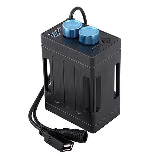 TrustFire EB03 wodoodporna 18650 obudowa na akumulator powerbank Box USB ładowanie telefonu DC 8.4V pojemnik na baterie skrzynka na Led rowerowy