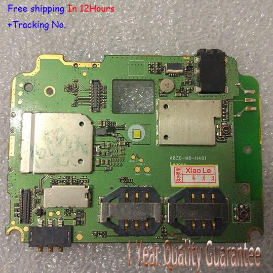 Placa madre mainboard motherboard aceptar prueba de la calidad original para lenovo a830 1 gb ram + 4 gb rom