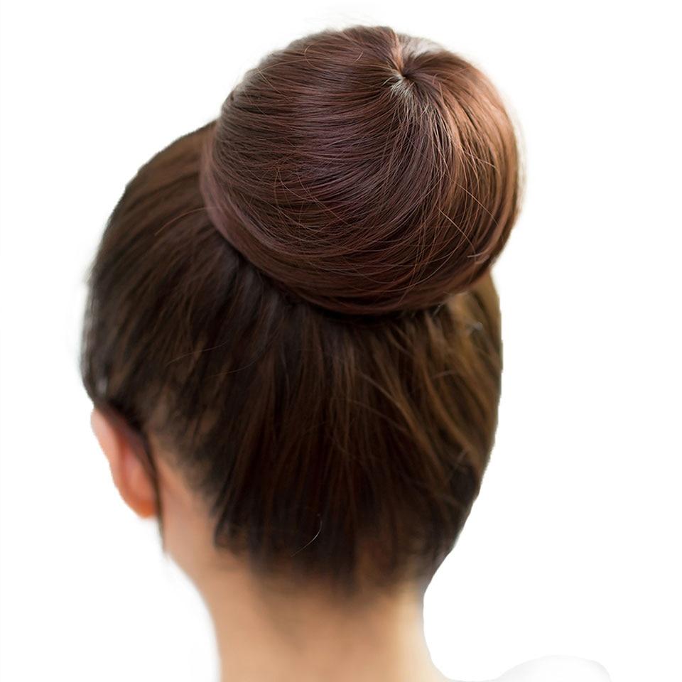 MUMUPI Clip in Ponytail Extensions Human Hair Bun Scrunchie Chignon Hair Chignon Hair Bun   headwear