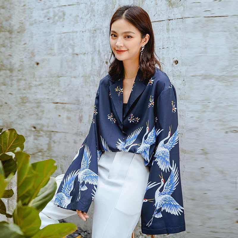 5482c9979 Kimonos woman 2018 Japanese kimono cardigan cosplay shirt blouse for women Japanese  yukata female summer beach