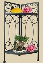 Мода классический цветок стенд полка ванной железный стойки штатив угловая полка