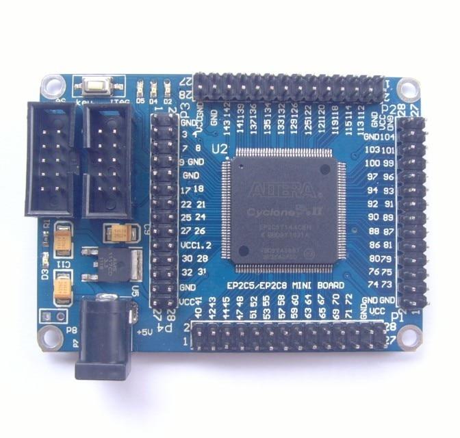 FPGA for CycloneII EP2C5T144 minimum system development board learning board