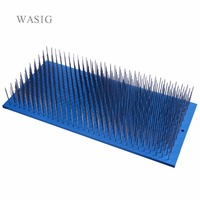 Hair Hackle 580 Teeth Stainless Steel Needles Hackles for Raw Hair Making Hair Bulk Hair Extensions Factory Use